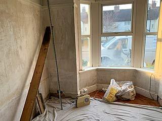 Renovation of living room - Gosport