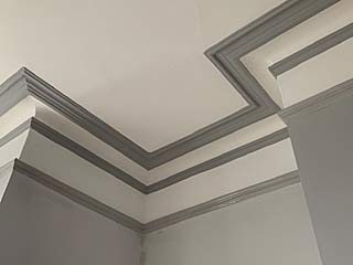 Celing work - detailed and careful painting